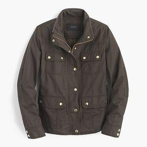 J. Crew olive green field jacket